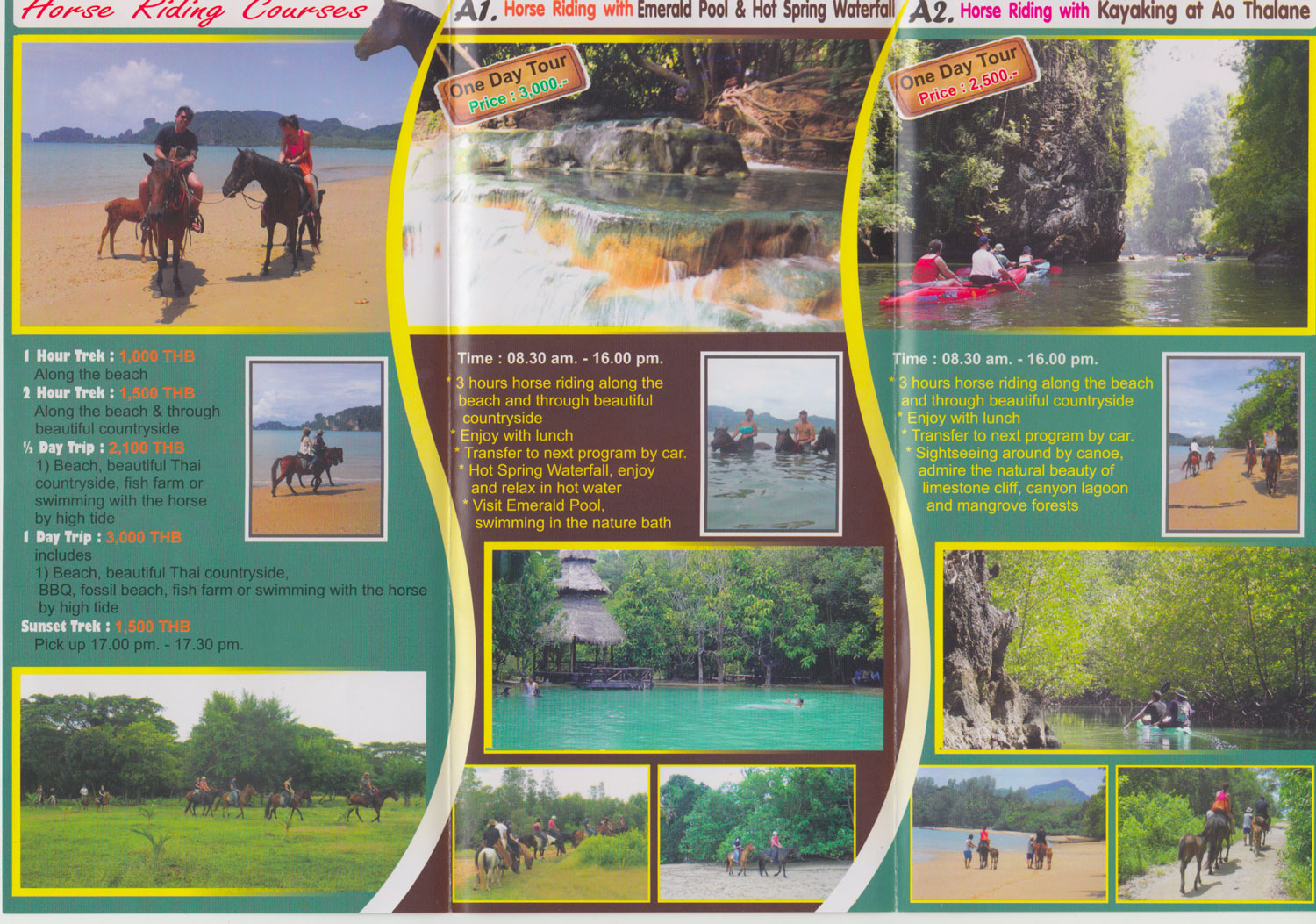Horse riding in Krabi