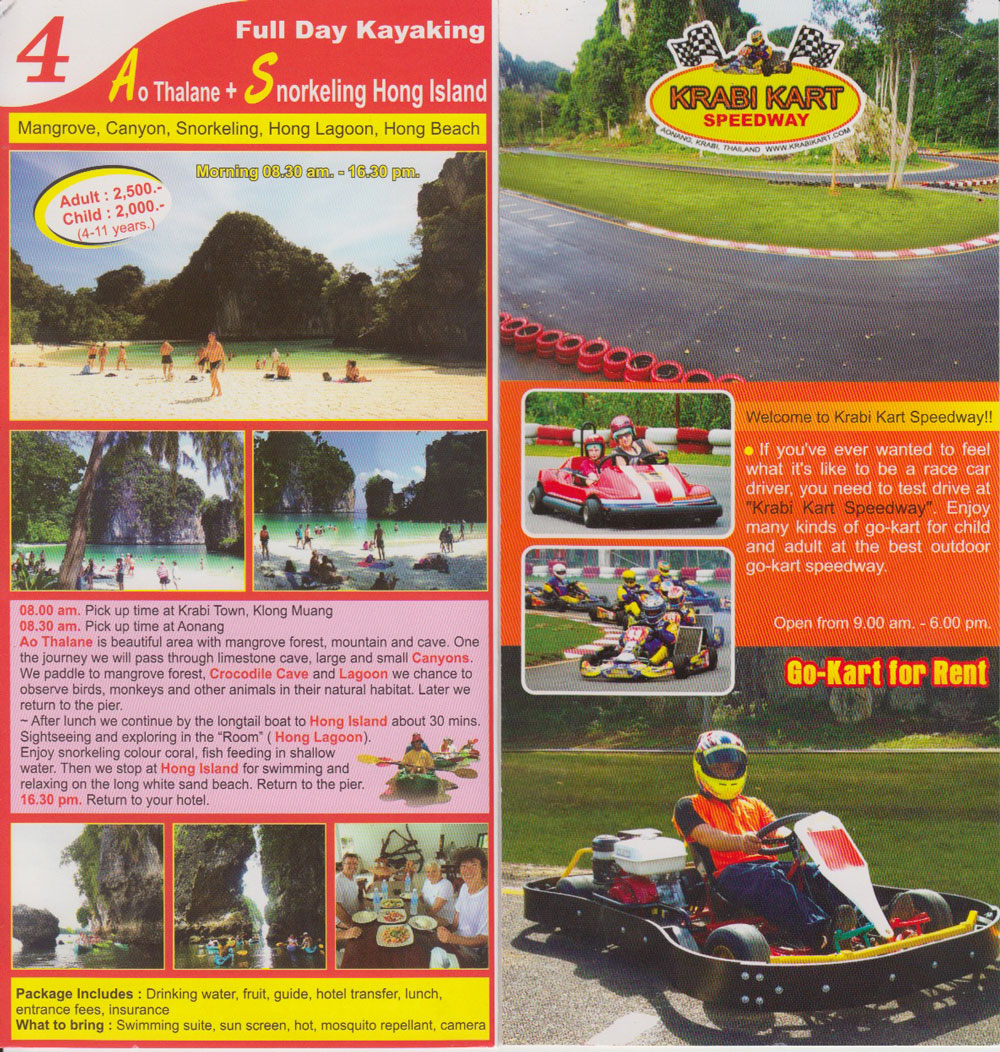 Krabi Karting and Kayaking