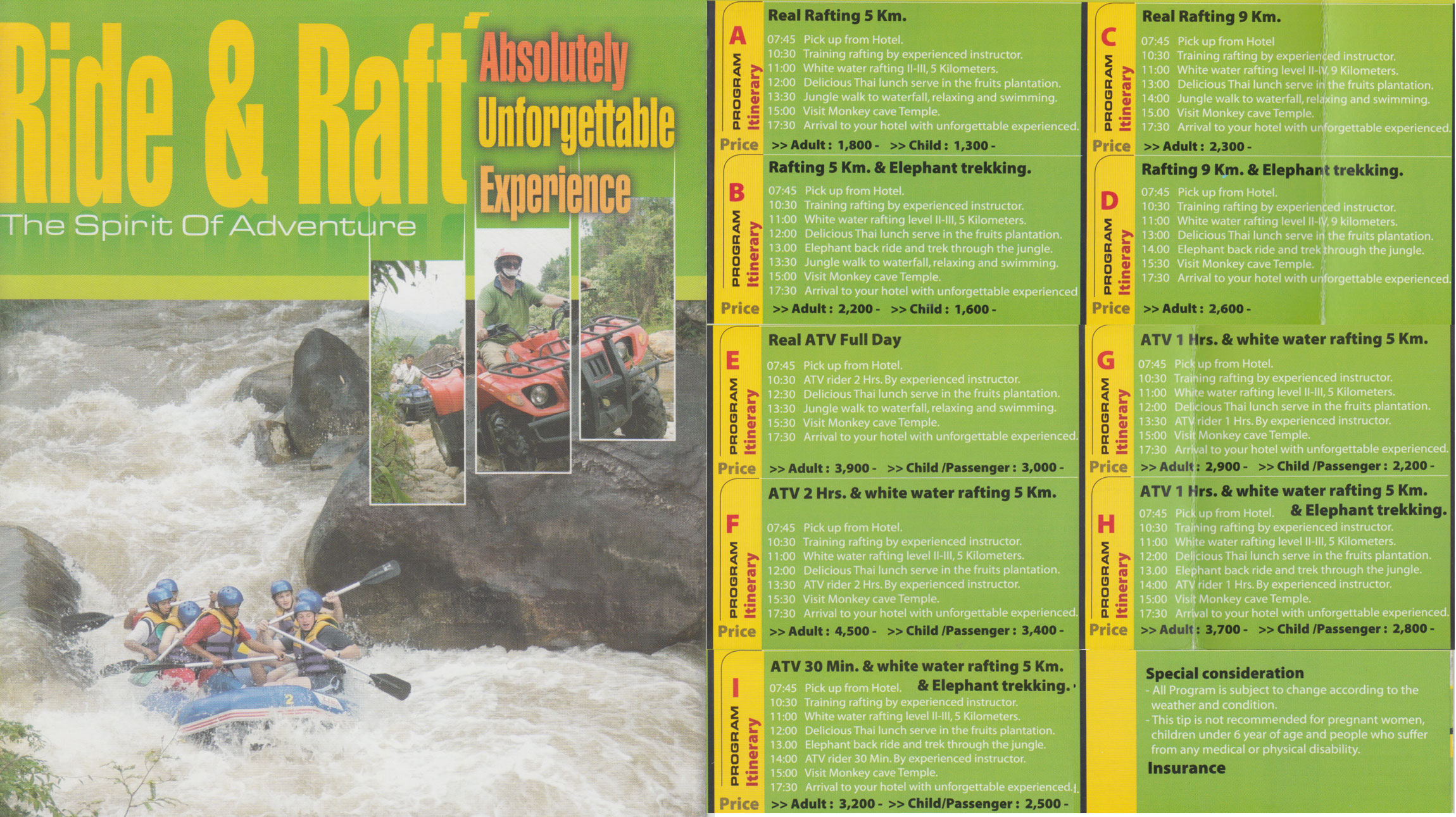 Rafting in Krabi