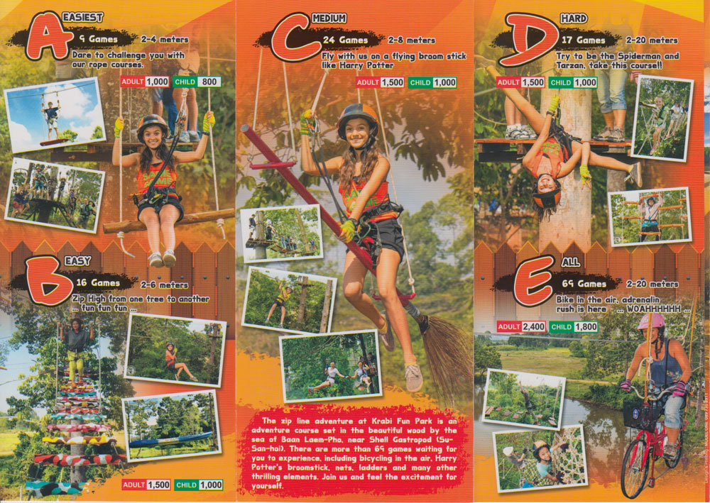 Zip Line in Krabi