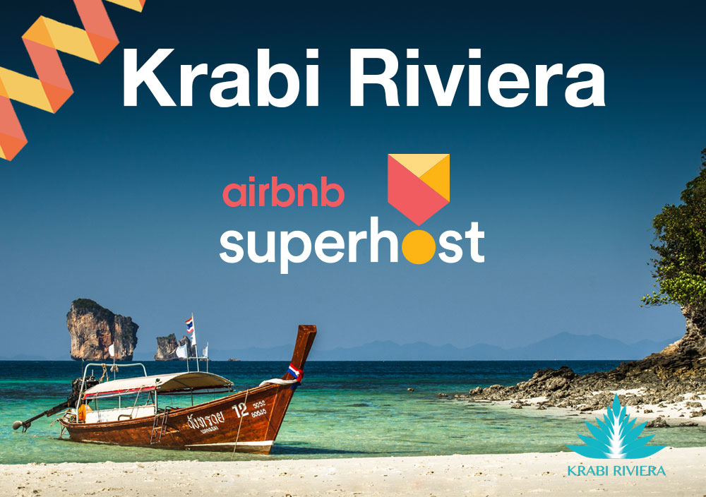 Krabi Riviera is Superhost on Airbnb