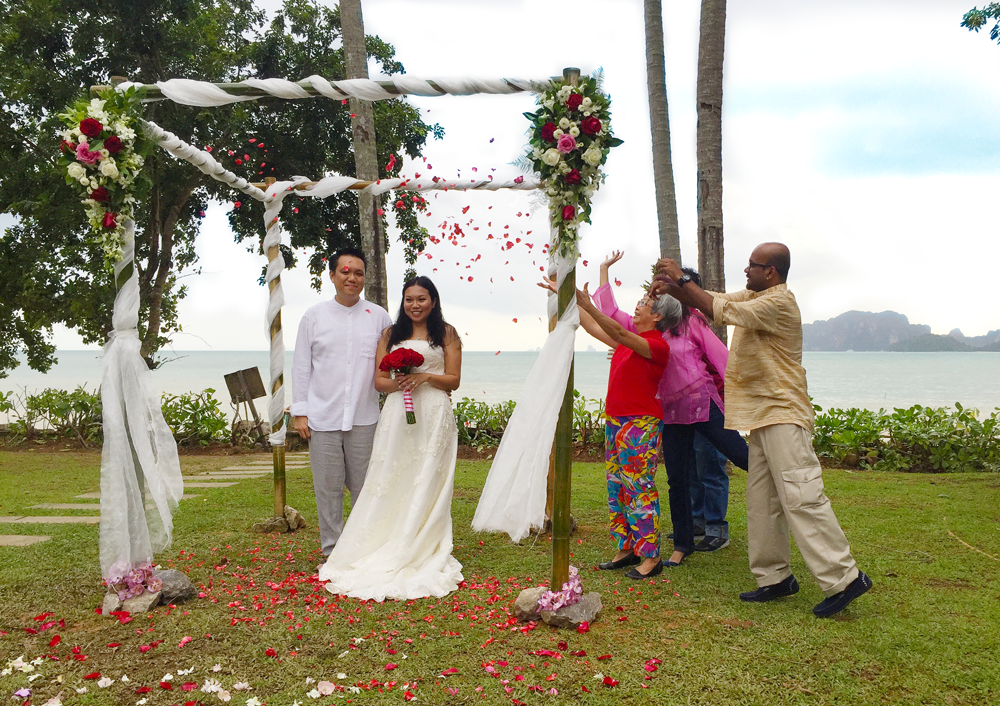 Getting married in Krabi