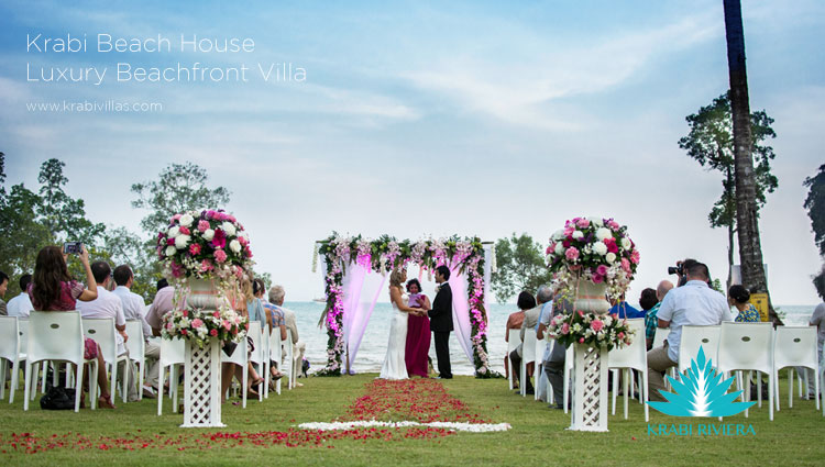 Choose a Krabi, Thailand wedding ceremony and package for your special day