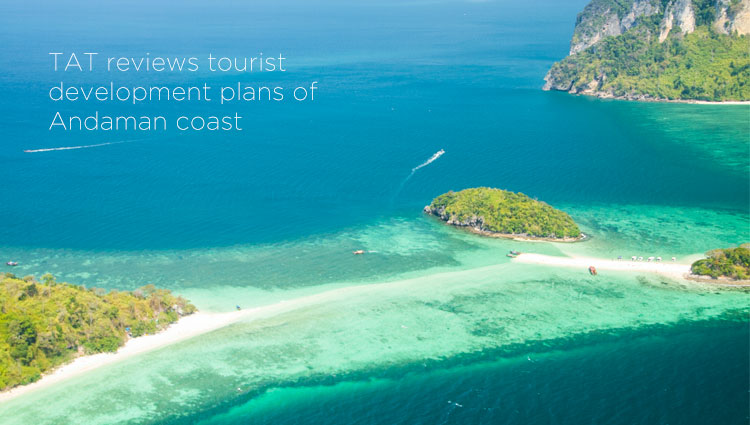 TAT reviews tourist development plans of Andaman coast
