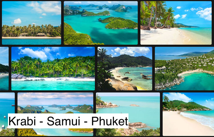 How to Get to Phuket and the Samui Archipelago