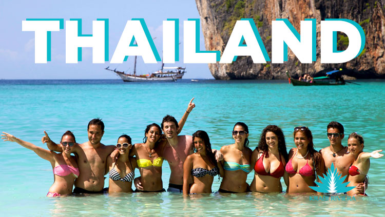 Asian booming middle class choosing Thailand for holiday destination