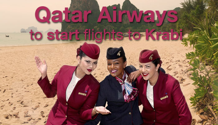 Qatar Airways to start flights to Krabi in December