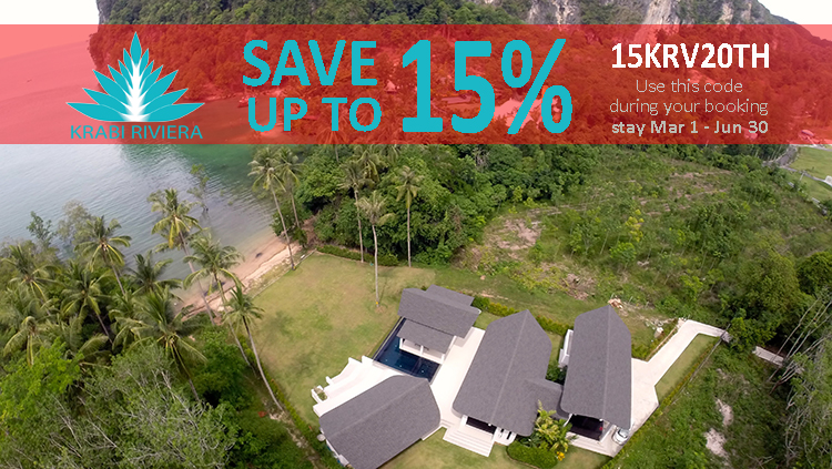 Save 15% - Krabi Luxury Pool Villas